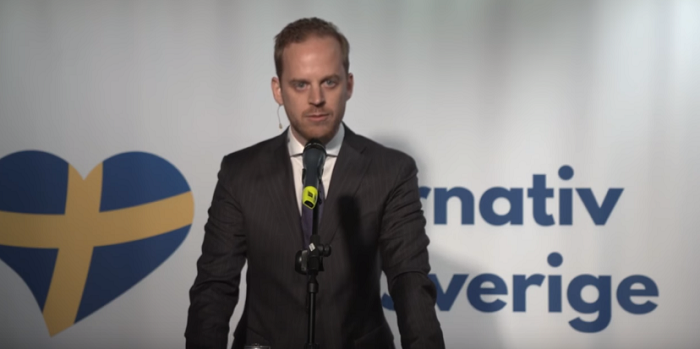Alternativ för Sverige Gustav Kasselstrand