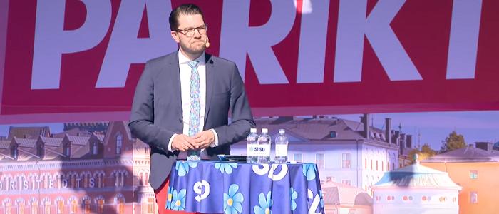 SD största parti i Sentios mätning augusti 2018