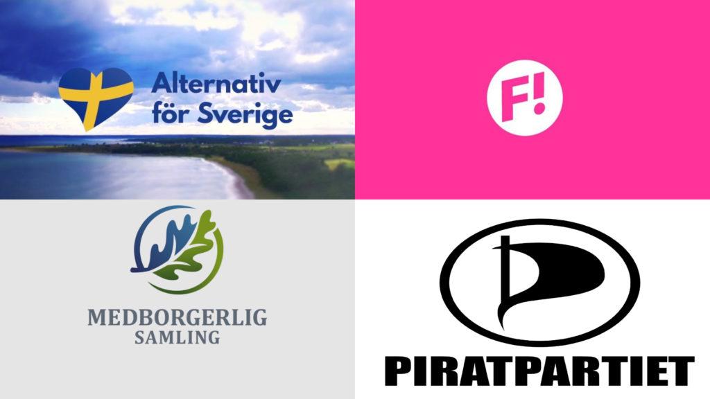 Betsson Alternativ För Sverige Feministiskt Initiativ Medborgerlig Samling Piratpartiet